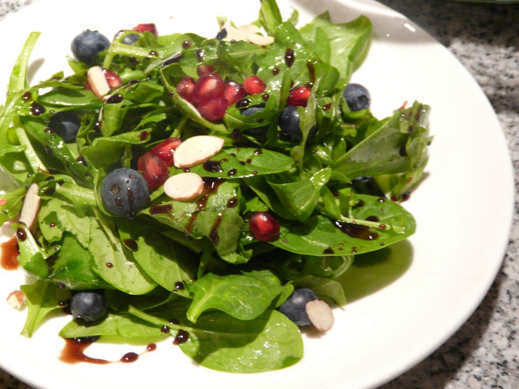 Arugula Pomegranate Seed Salad
