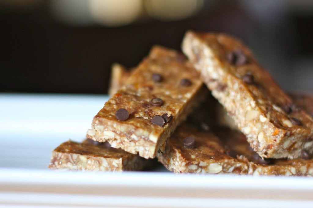 "Dark Chocolate Peanut Butter ""Granola"" Bars - Against All Grain ..."