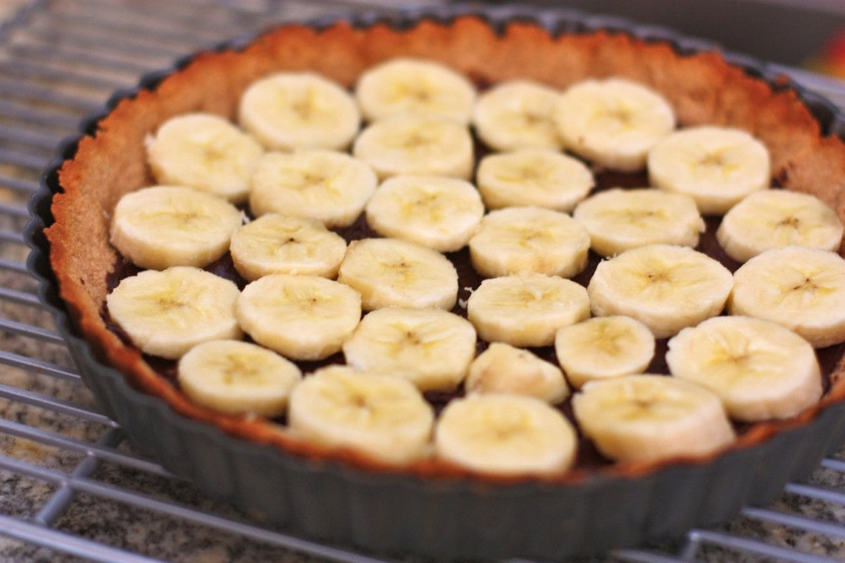 Black Bottom Banana Cream Pie - Against all Grain | Against All Grain ...
