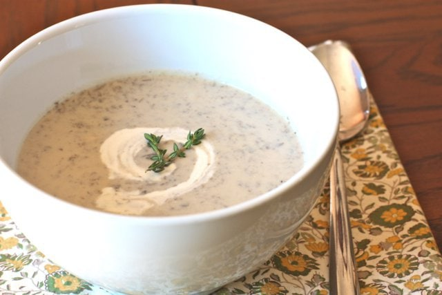 Cream Of Mushroom Soup Scd Paleo Vegan Option