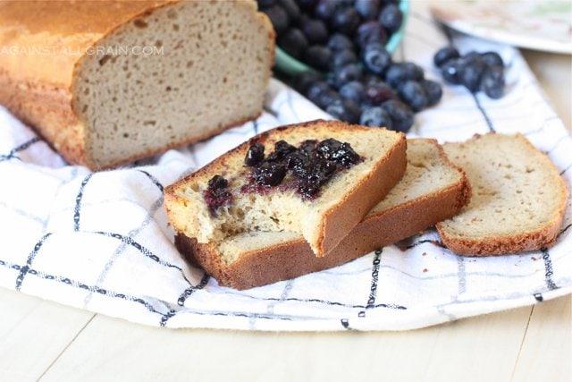 Grain-Free Sandwich Bread - From Against All Grain