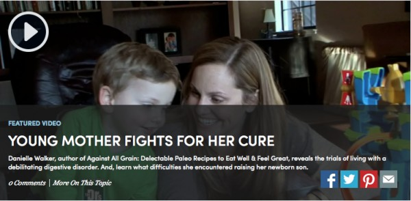 Young Mother Fights for Her Cure