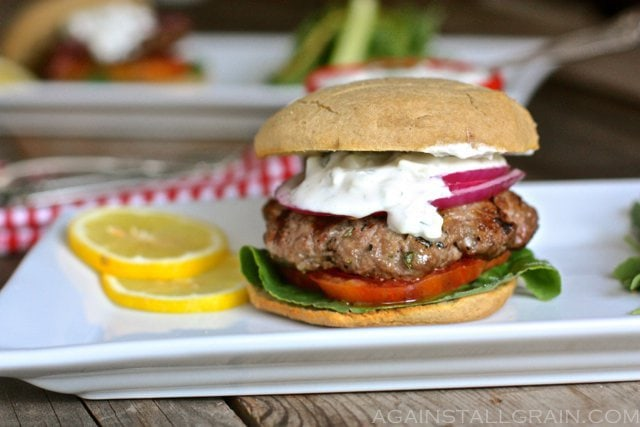 Greek Gyro Burger Paleo Gluten Free Scd Quick And Easy Against All Grain Delectable Paleo Recipes To Eat Feel Great That awkward moment when you realize you found euros in your pocket, not gyros. greek gyro burger
