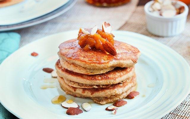 Paleo Vanilla Chai Pancakes - Queen of Quinoa-3