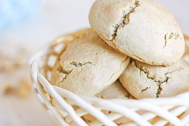 Grain-Free Dinner Rolls or Hamburger Buns