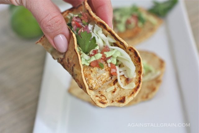 Paleo Fish Tacos - From Against All Grain