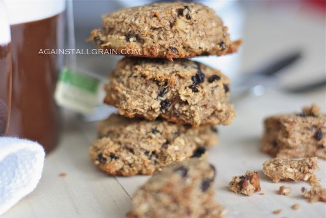 Grain-Free Paleo Breakfast Cookies (nut/egg free option) - from Against All Grain