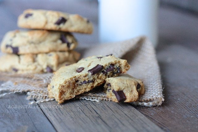 Paleo Chocolate Chip Cookies - by Against All Grain