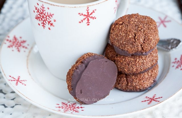 Paleo Chocolate Macaroons - from Against All Grain