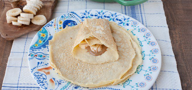 Grain-Free Paleo Crepes from Against All Grain #paleo #glutenfree