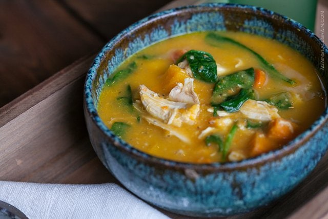 Roasted Chicken and Vegetable Soup from Against All Grain