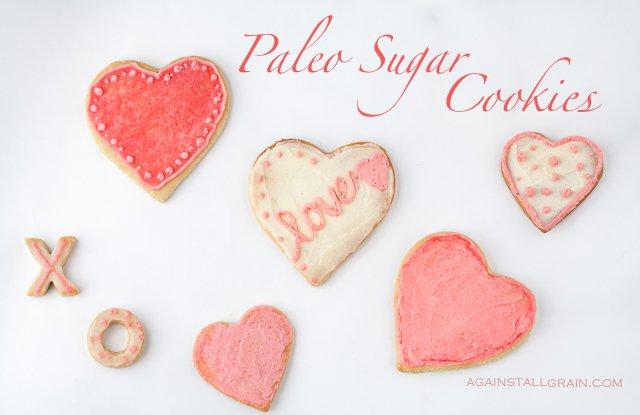 Paleo Sugar Cookies from Against All Grain