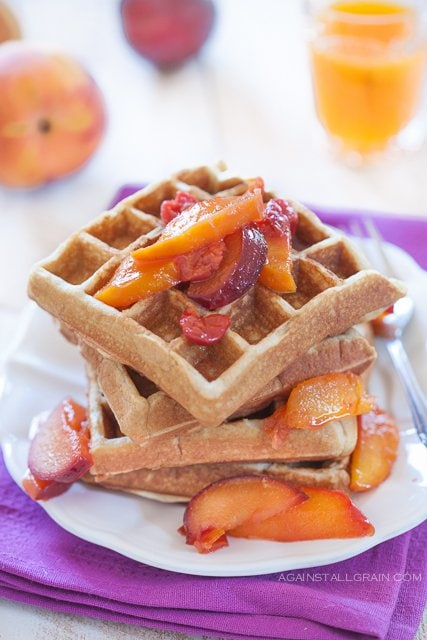 Grain-Free Waffles from Against All Grain (SCD, Gluten-Free, Dairy-Free, Paleo)