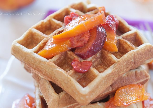 Grain-Free Waffles from Against All Grain (SCD, Paleo, Gluten-Free)