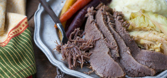 Corned Beef and Cabbage by Against All Grain