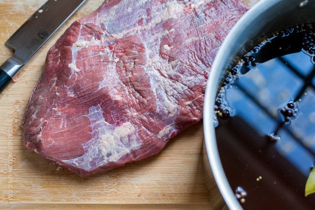 Corned Beef Brisket: Brine (Nitrate-Free)