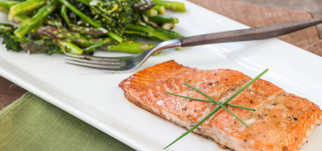 Glazed Salmon with Broccoli and Asparagus  by Against All Grain #Paleo #Glutenfree #Againstallgrain