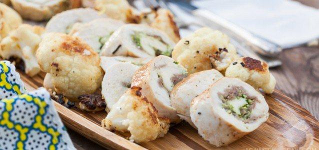 Pesto Prosciutto Chicken Roulade - by Against All Grain #paleo #scd #glutenfree