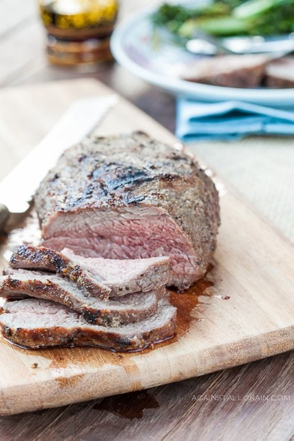 Santa-Maria Tri-Tip Roast from Against All Grain #Paleo