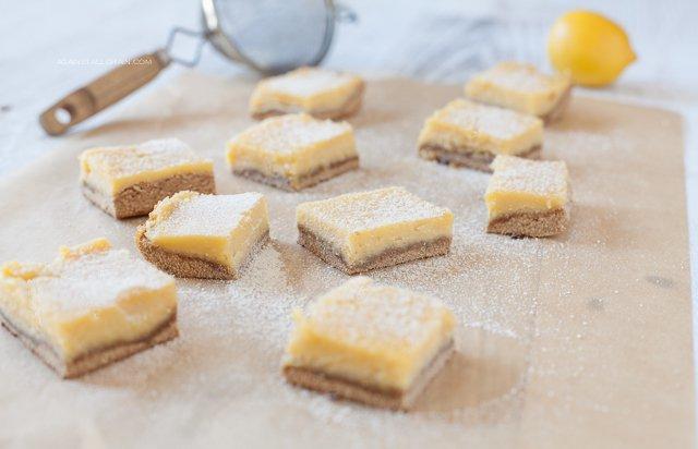 Luscious Lemon Bars (nut-free)