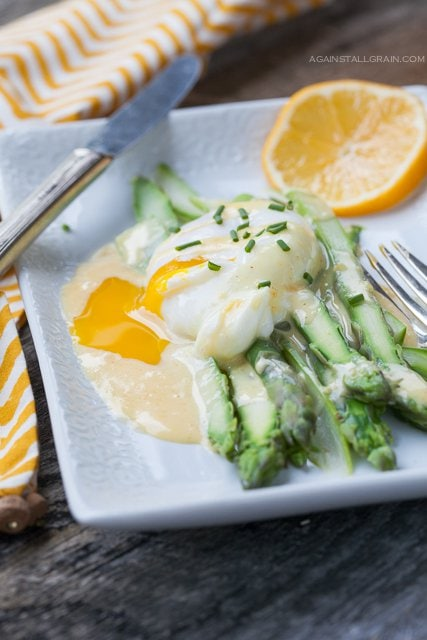 Asparagus Benedict by Against All Grain