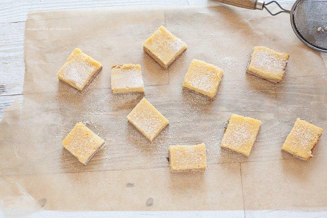 Lemon Bars by Against All Grain (nut-free, paleo)