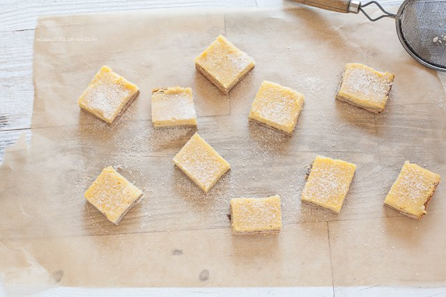 Lemon Bars by Against All Grain (nut-free, paleo)