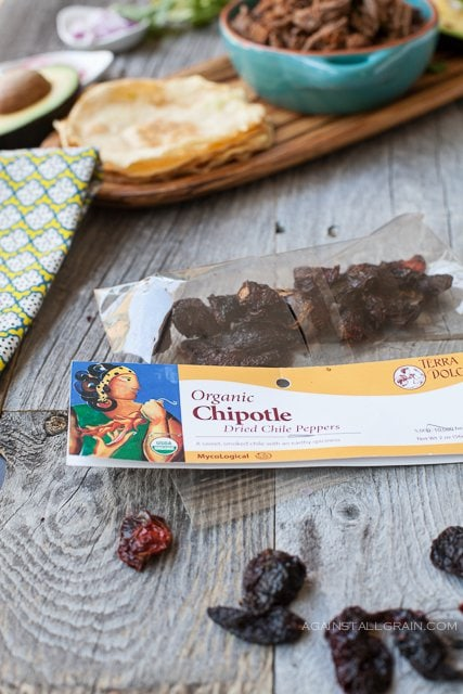 Organic Dried Chipotle Peppers