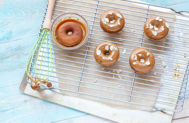 Caramel Glazed Doughnuts by Against All Grain (grain-free, paleo)