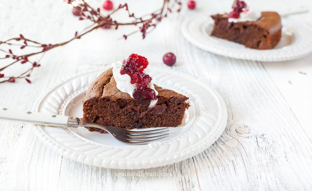 cranberry choc gingerbread main