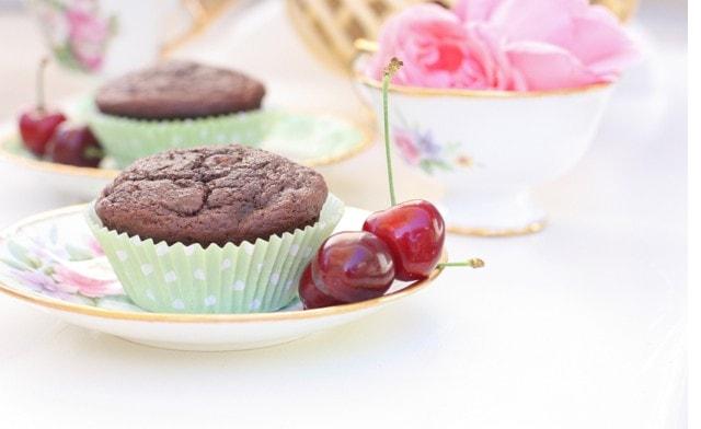 choc cherry muffins horiz