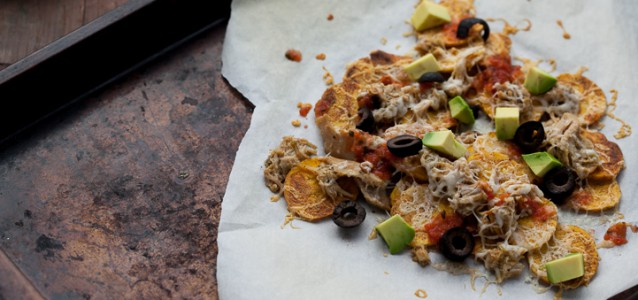 Plantain Chips Nachos by Against all Grain