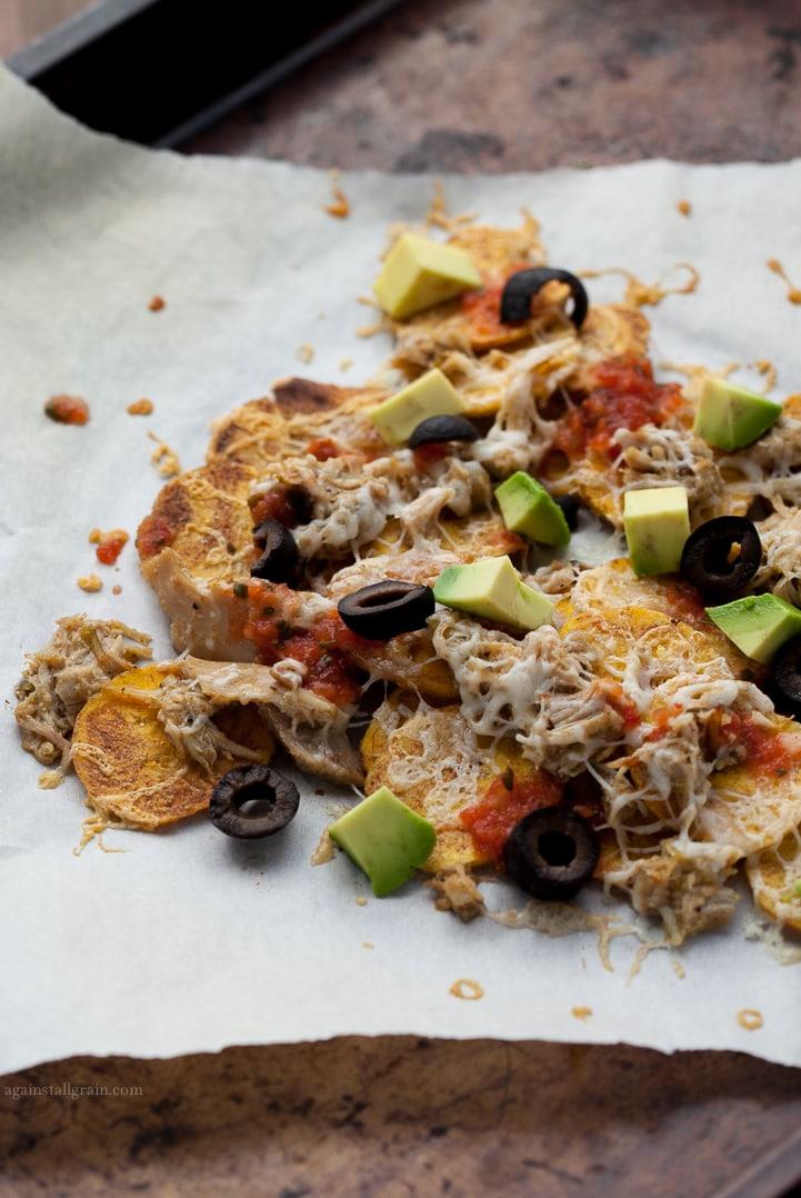 Primal Plantain Chip Nachos from Against all Grain