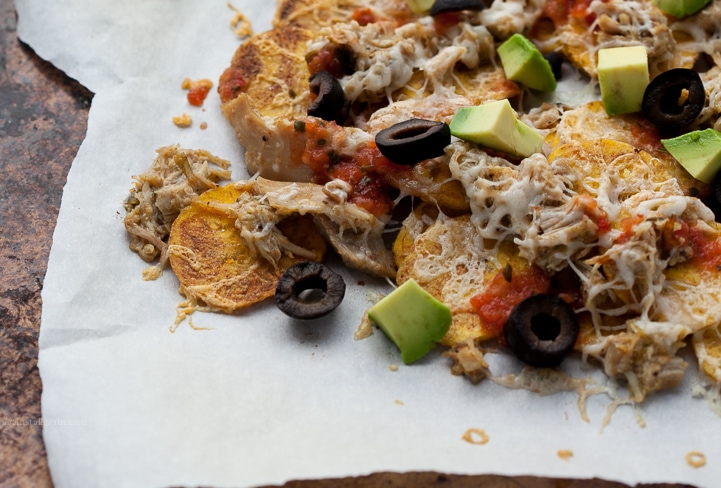 Grain-free Plantain Chip Nachos from Against all Grain