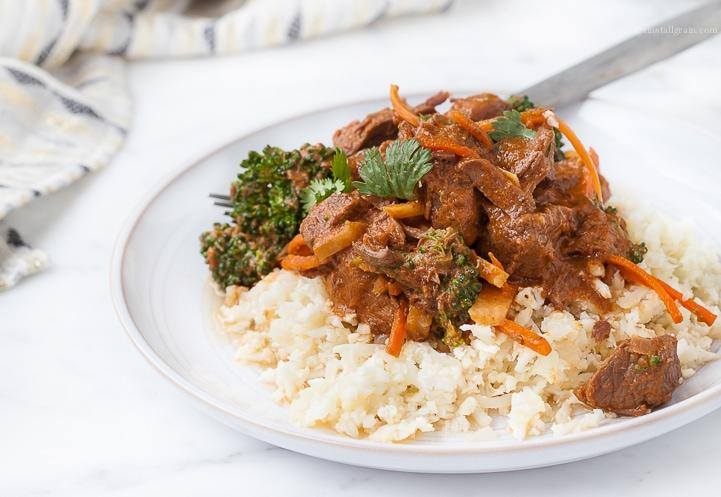 Crockpot Paleo Thai Stew