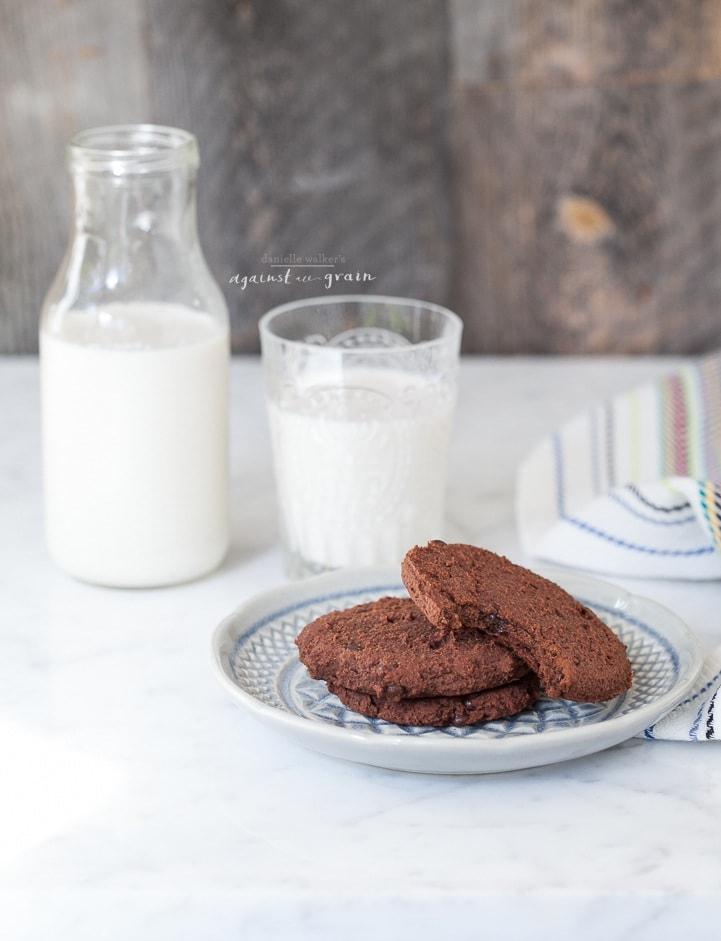 Almond Pulp Cookies Danielle Walker's Against all Grain