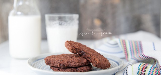 Almond Pulp Cookies - Danielle Walker's Against all Grain