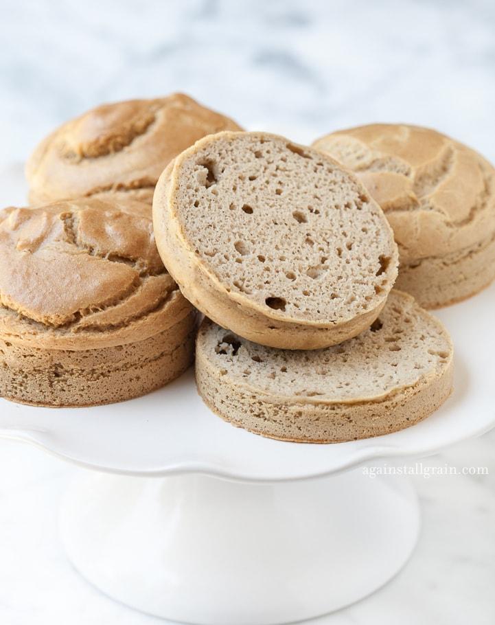 Danielle Walker's Against all Grain Sandwich Rolls 1