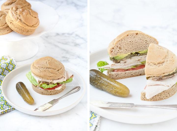 Danielle Walker's Against all Grain Sandwich_Rolls 5-2