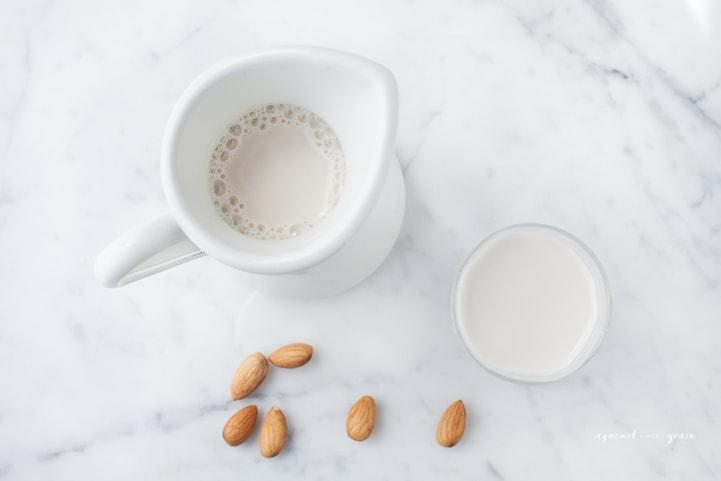 Danielle Walker's Against all Grain - Homemade Almond Milk 2 #paleo