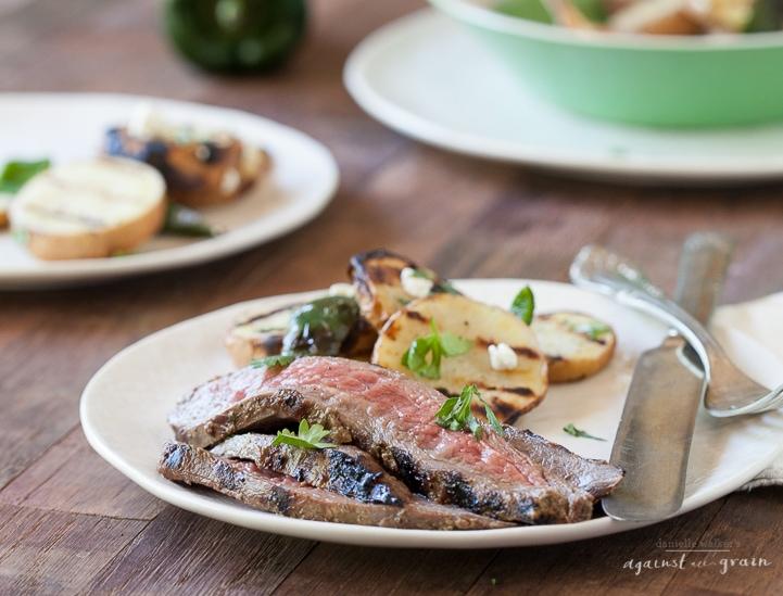 Balsamic Cilantro Flank Steak | Danielle Walker's Against all Grain