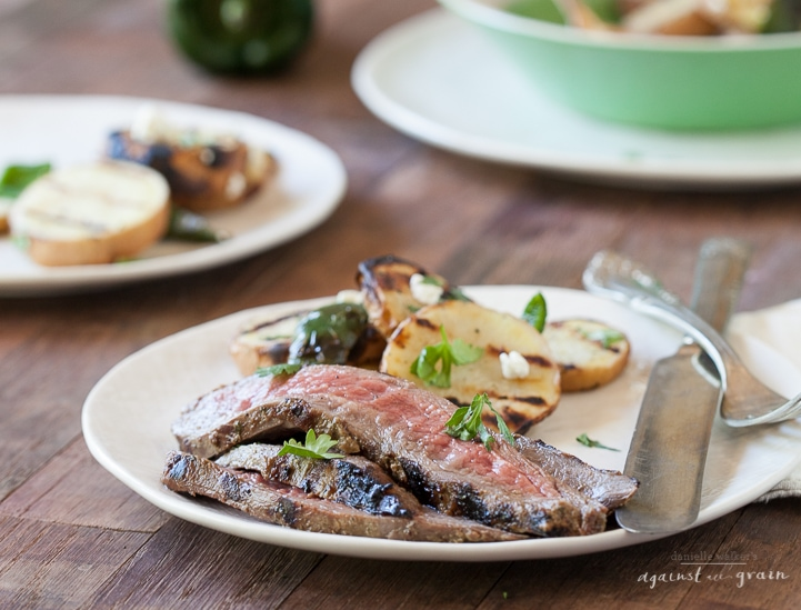 Balsamic Cilantro Flank Steak   Danielle Walker's Against all Grain