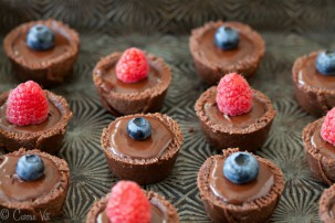 Guest Post: Fudgy Chocolate Tarts