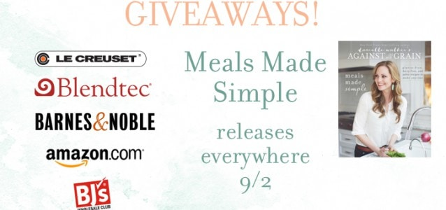 Meals Made Simple Giveaways