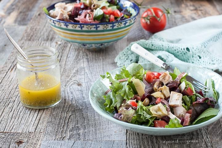 ItalianChopped Salad by Danielle Walker's Against all Grain