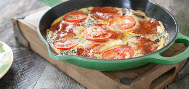 Pizza Frittata by Danielle Walker's Against all Grain
