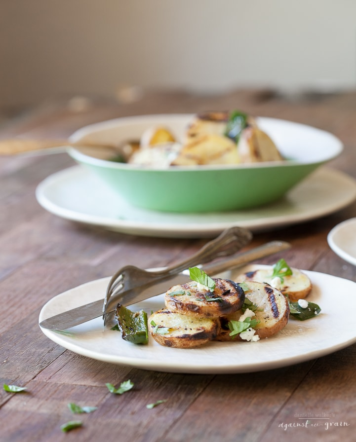 Grilled Potatoes| Danielle Walker's Against all Grain