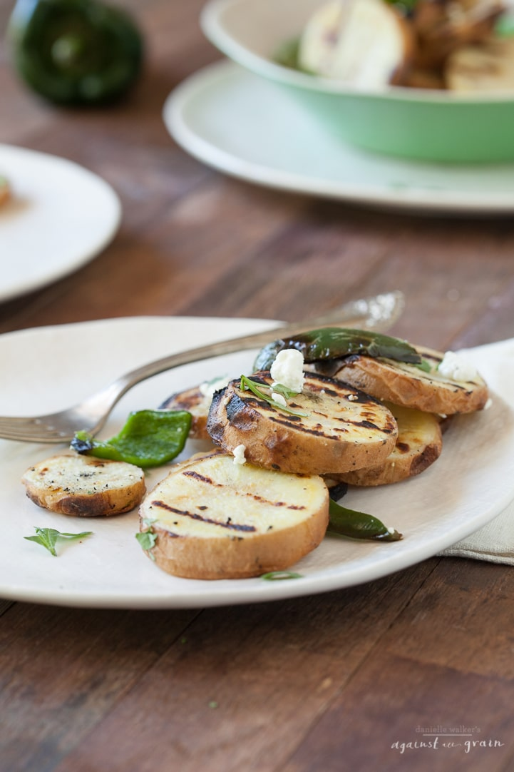 Grilled Potatoes - Danielle Walker's Against all Grain