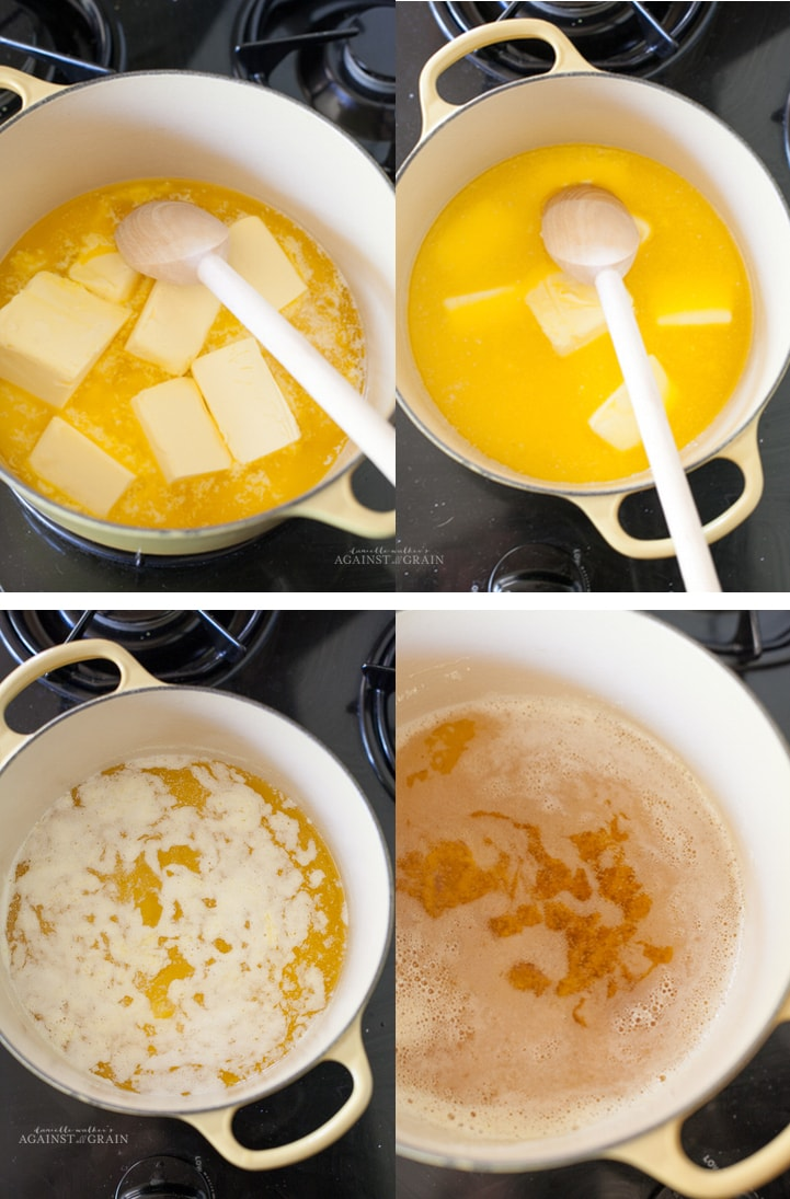 Making Ghee from Danielle Walker's Against all Grain