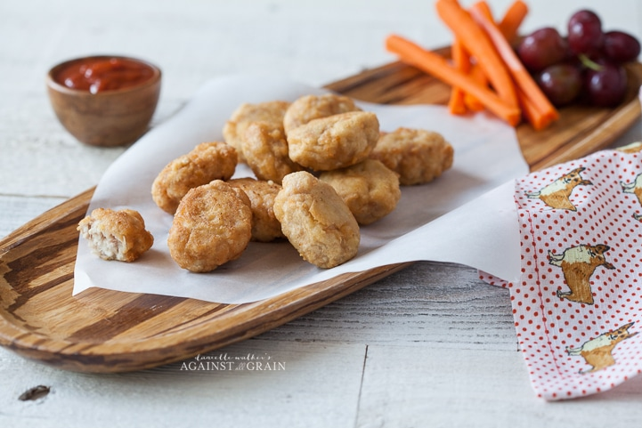 Homemade Grain-Free Chicken Nuggets by Danielle Walker's Against all Grain